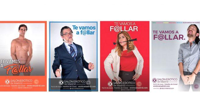 De la dominanta Susana al onanista Iglesias: Carmena autoriza una feria con fotos sexuales de políticos