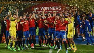 España celebra el Europeo Sub 17. (UEFA)