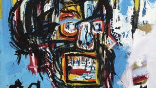 Obra de Jean-Michel Basquiat subastada en Sotheby's. (Foto: Sotheby's)
