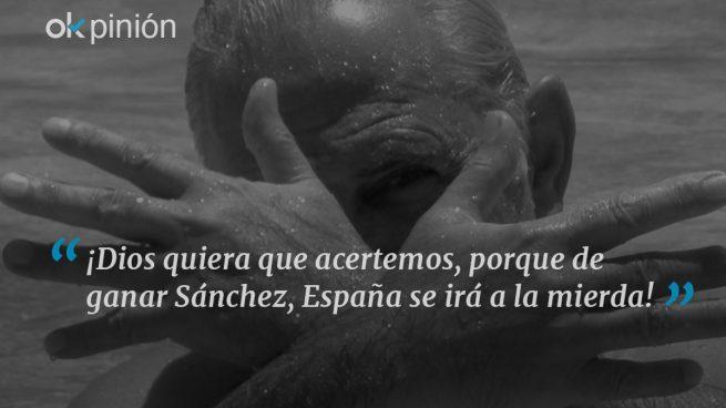 El último canto de Pedro cisne Sánchez