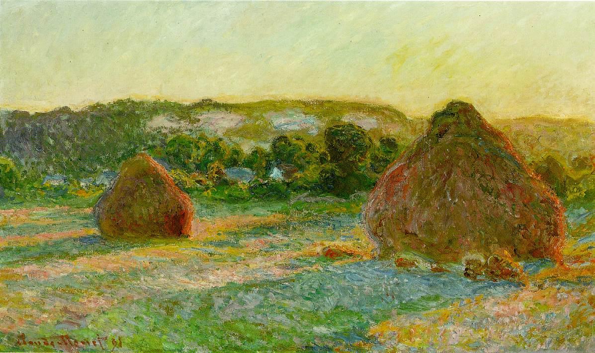 Vida y obras del pintor francés Claude Monet.