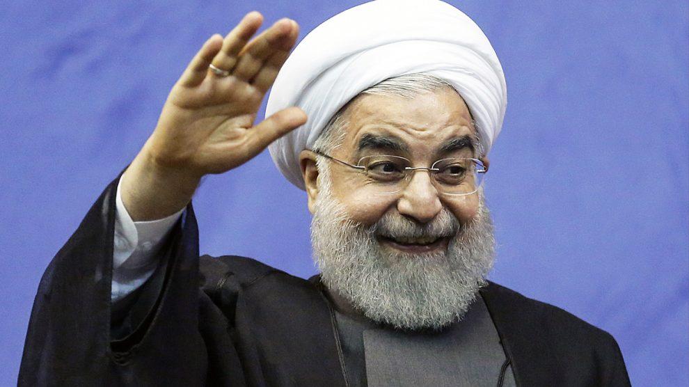 Hasan Rohani, presidente de Irán. (Foto: AFP)
