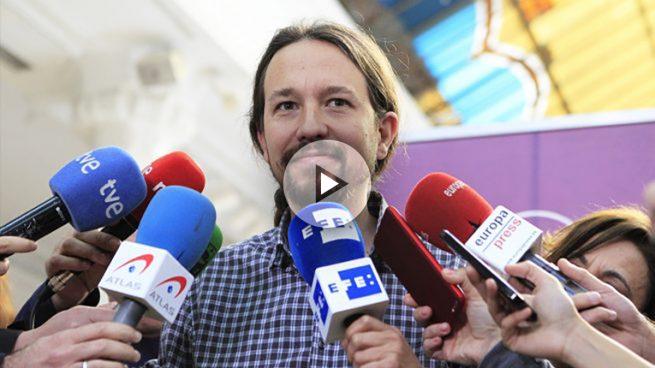 """Iglesias aparca la """"cal viva"""" para comparar su moción de censura con la de González hace 37 años"""