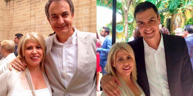 Mamen Sánchez apoyó también a Zapatero