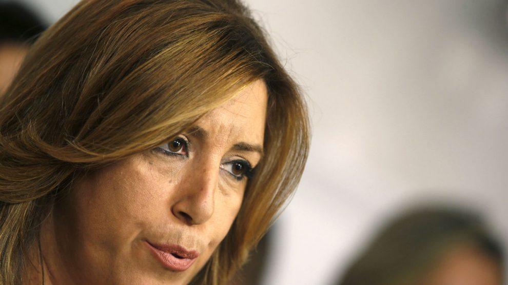 La presidenta de la Junta de Andalucía, Susana Díaz. (Foto: EFE)