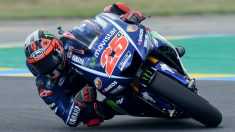 Maverick Viñales gana el Gran Premio de Francia. (AFP)