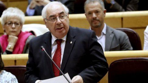 Vicente Álvarez Areces, ex portavoz del Grupo Socialista en el Senado. (Foto: Youtube)