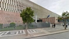Fachada de la Audiencia Provincial de Málaga.