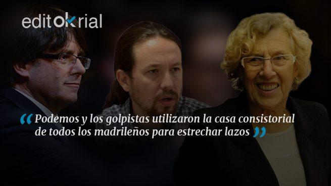 La quinta columna de Puigdemont es Podemos