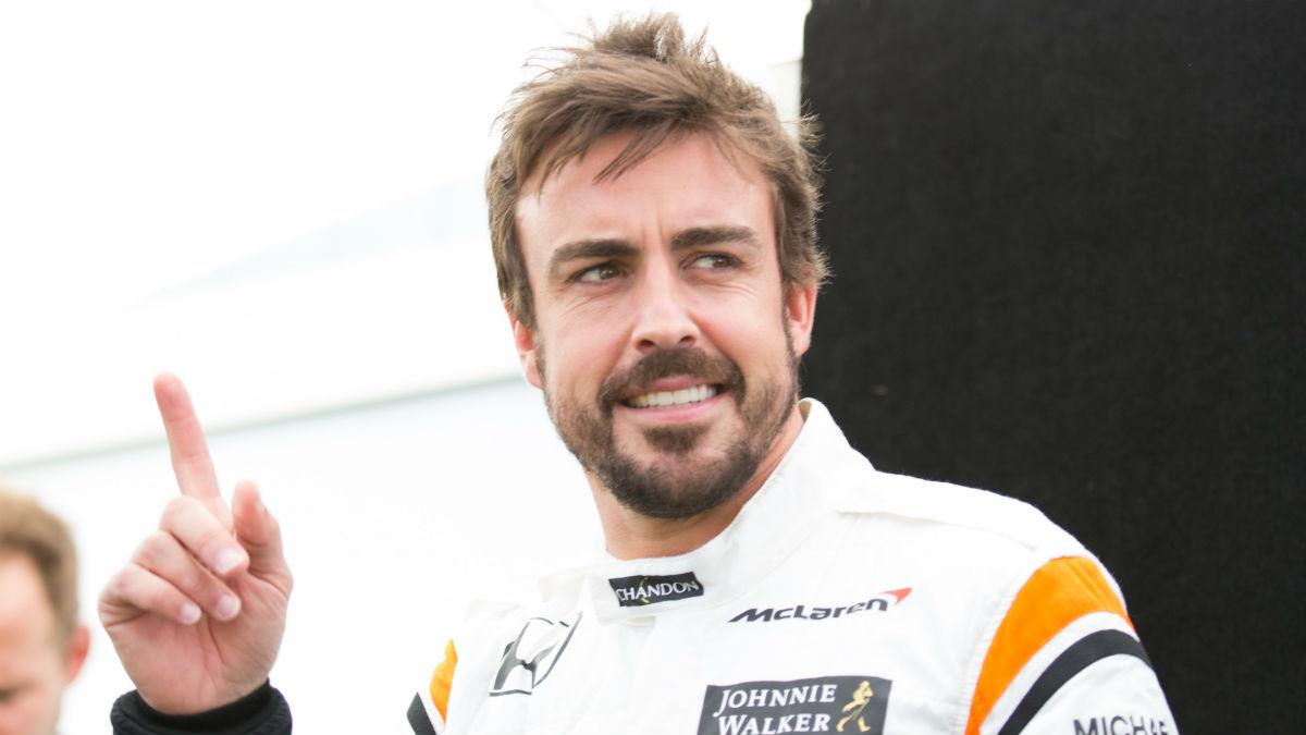Fernando Alonso sorprendió a propios y extraños con su quinto puesto en la clasificación de Indianápolis, si bien éste pudo ser aún mejor. (Getty)
