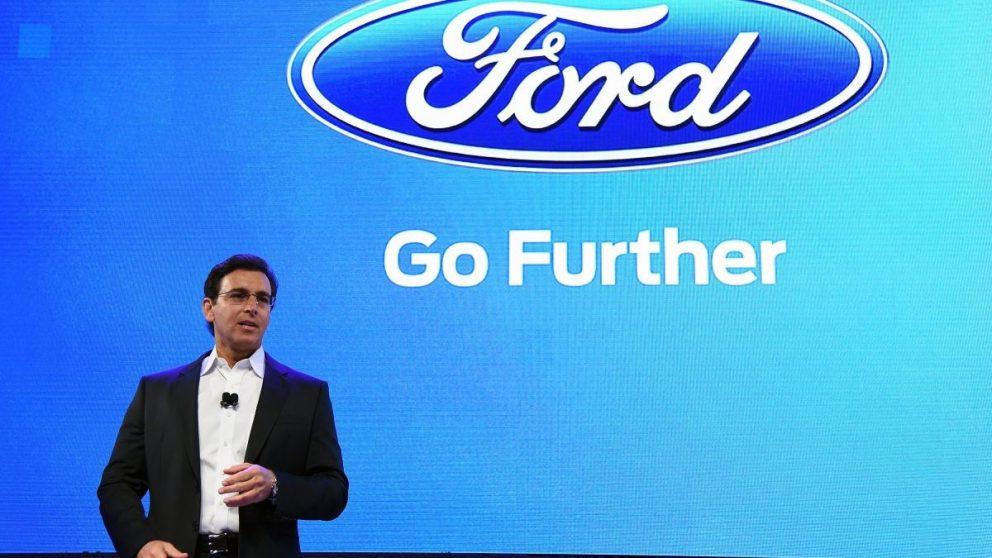 Mark Fields, CEO de Ford (Foto: Getty)