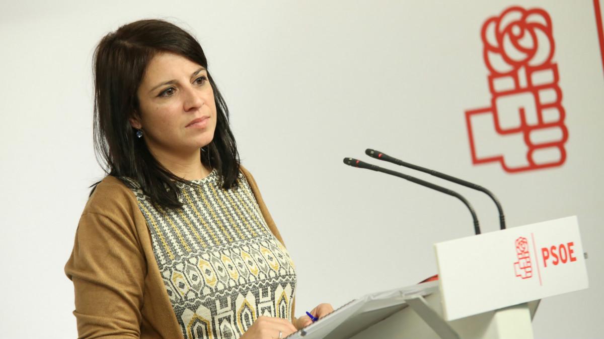 La diputada socialista por Asturias Adriana Lastra (Foto: PSOE)