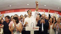 Pedro Sánchez, nuevo secretario general del PSOE (EFE)
