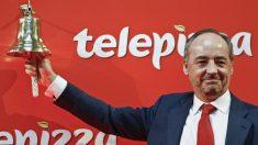 Pablo Juantegui, presidente de Telepizza en la salida a Bolsa (Foto: Flickr BME)