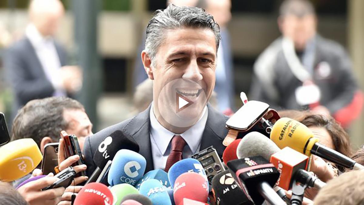 Xavier García Albiol. (Foto: AFP)