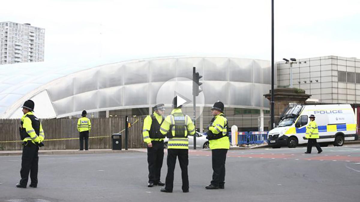 Alrededores del Manchester Arena tras el atentado. (Foto: Getty)