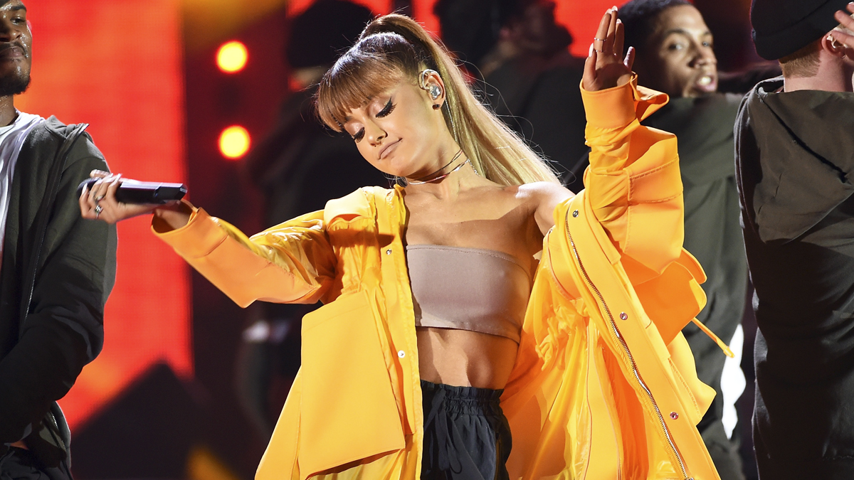 Ariana Grande. (Foto: AFP)