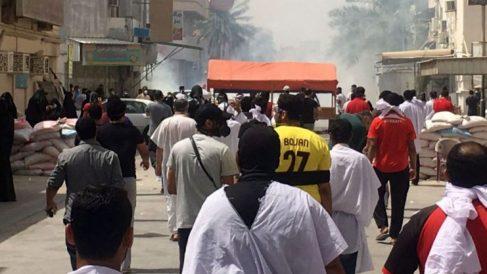 Las fuerzas suníes del reino de Baréin han asaltado el pueblo chií de Diraz.