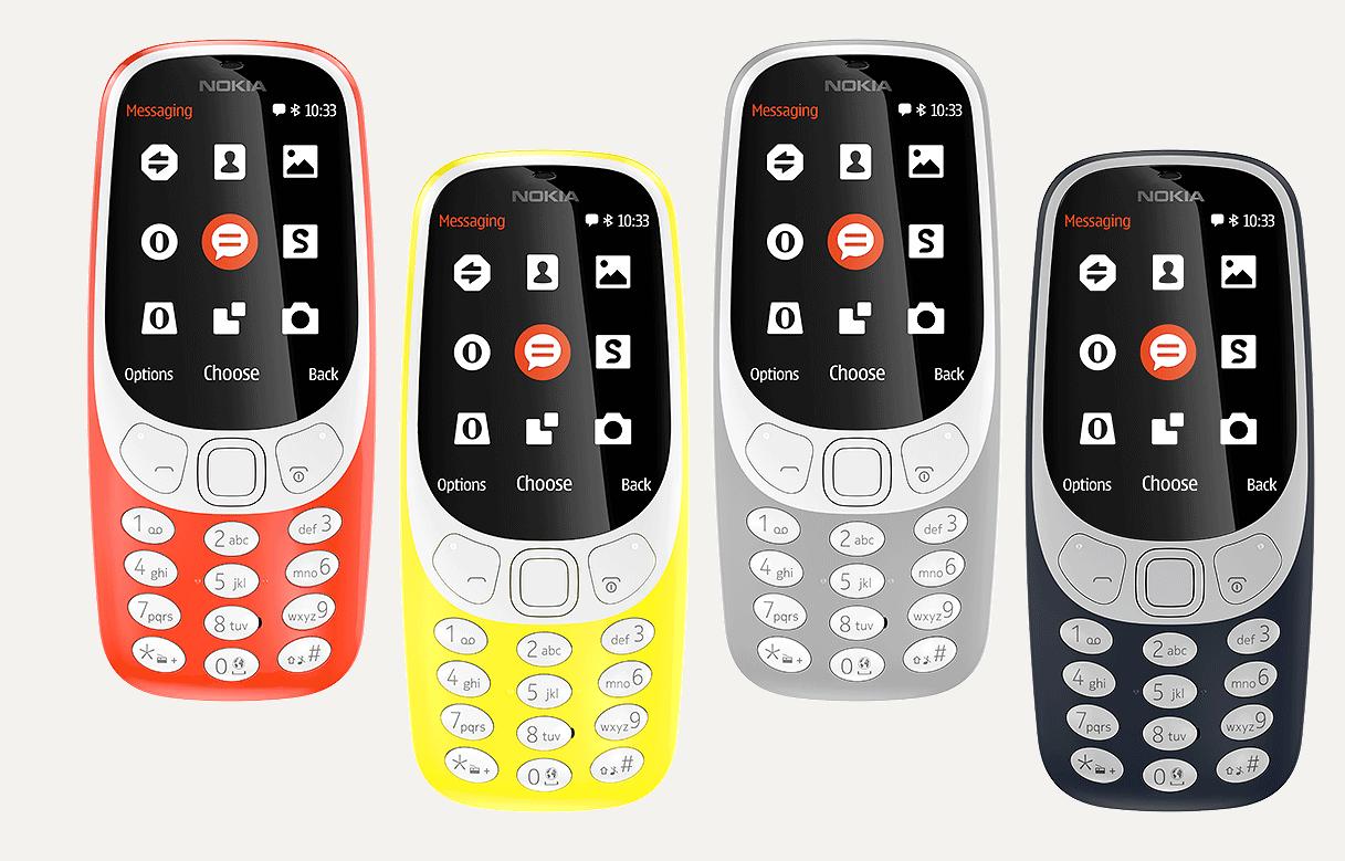 Nuevo modelo Nokia 3310 (Foto:Nokia)