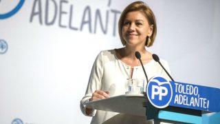 La ministra de Defensa y secretaria general del PP, María Dolores de Cospedal (Foto: Efe)