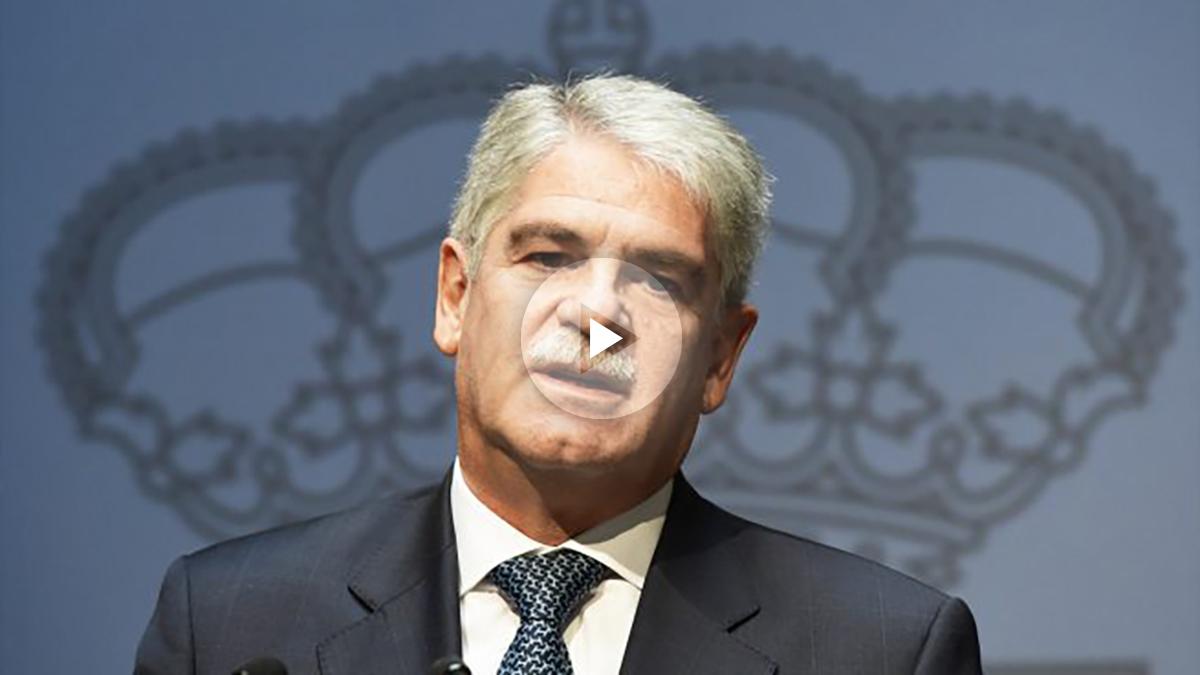 Alfonso Dastis. (Foto: AFP)