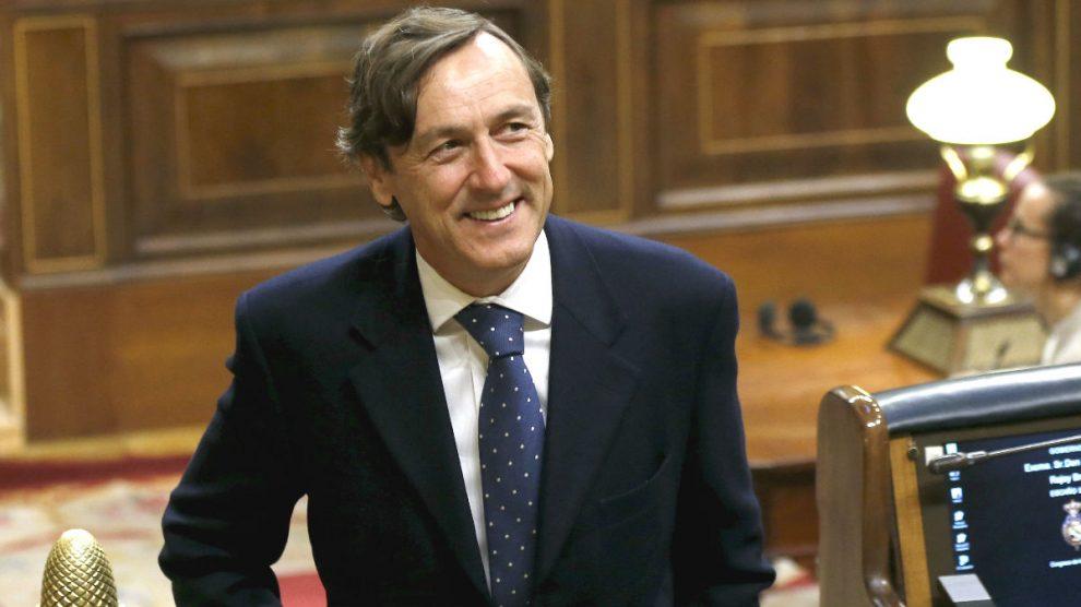 Rafael Hernando, portavoz del Grupo Popular en el Congreso de los Diputados. (Foto: EFE)