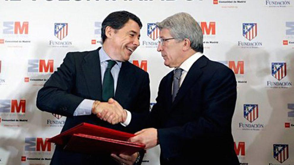 Ignacio González y Enrique Cerezo. | Caso Lezo