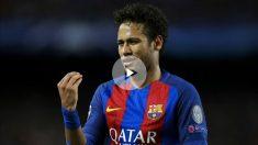 Neymar no tiene claro su futuro en el Barcelona. (AFP)