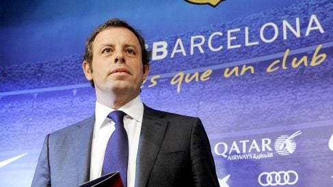 Sandro Rosell. (Foto: AFP)