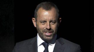 Sandro Rosell, ex presidente del FC Barcelona, detenido por blanqueo y organización criminal. (EFE)