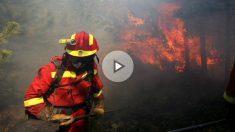 La UME actuando ante un incendio (Fuente: UME)