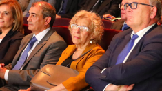 La alcaldesa hace unas semanas en un acto público. (Foto: Madrid)