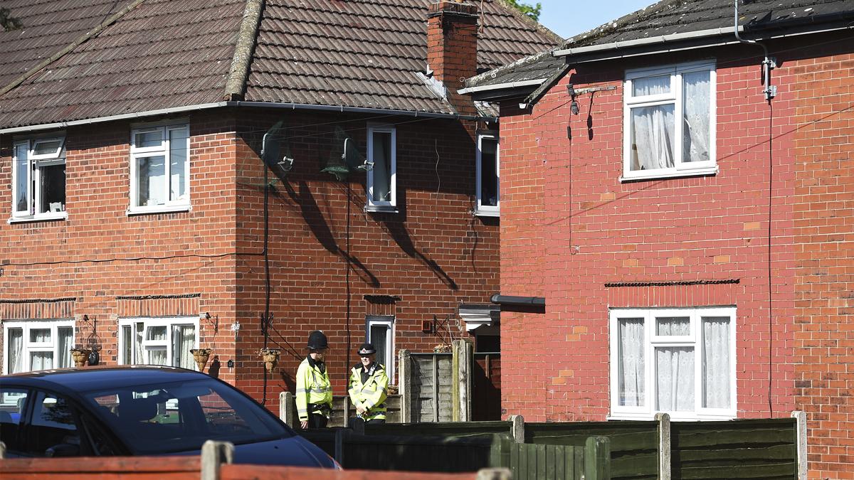 Casa de Salman Abedi, terrorista de Manchester, en Elsmore Road. (Foto: AFP)