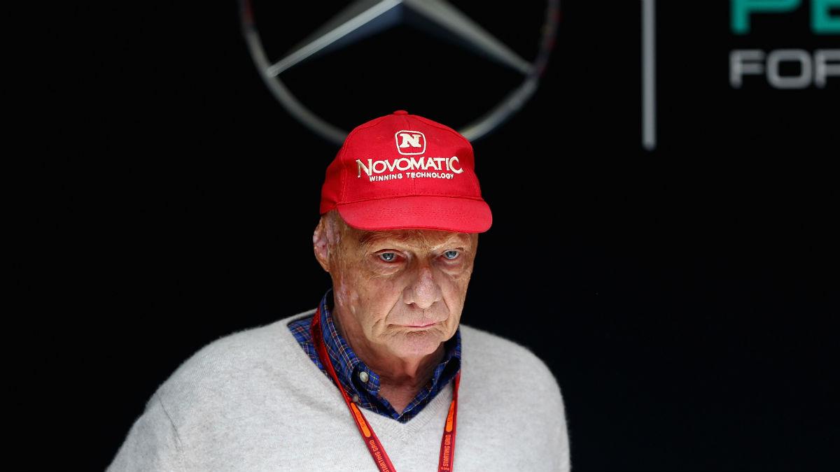 Niki Lauda reconoce que Fernando Alonso no es el objetivo de Mercedes para 2018, pero tampoco cierra la puerta a la llegada del español. (Getty)