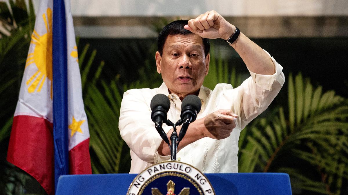 Rodrigo Duterte. (Foto: AFP)