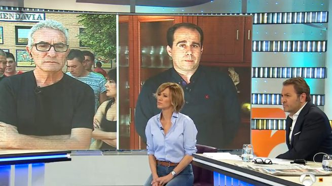 Diego Cañamero en 'Espejo Público'.