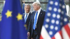 Donald Tusk y Donald Trump. (Foto: AFP)