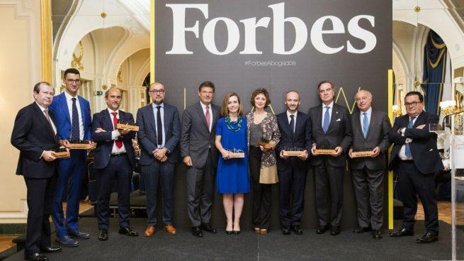 Forbes premia a los mejores bufetes y abogados de España
