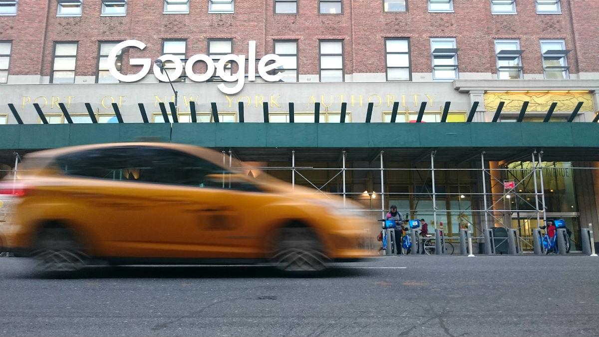 Edificio de Google en la Octava Avenida de Nueva York (Foto: Carlos García-Ovies).