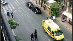 Ambulancia aparcada