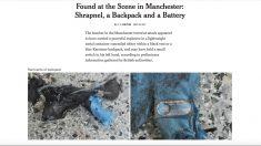 Imágenes del material usado por el terrorista de Manchester. (Foto: nytimes.com)