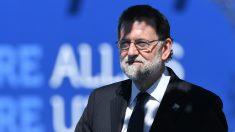 Mariano Rajoy, a su llegada a la cumbre de la OTAN en Bruselas. (AFP)