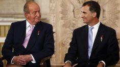 Felipe VI sucedió a su padre en 2014.