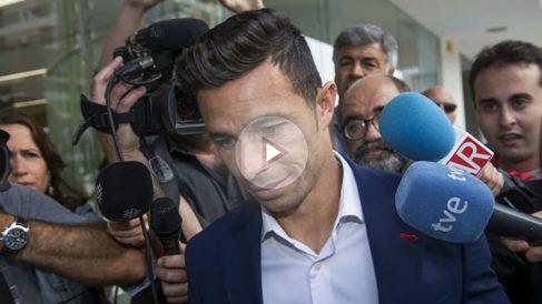 Rubén Castro a su llegada al juzgado. (EFE)