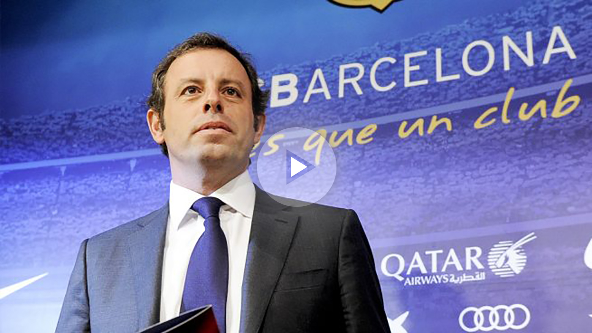 Sandro Rosell. (Foto: AFP)