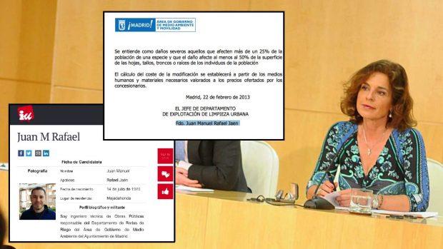 Sabanés admite que un técnico de IU participó en elaborar los contratos de limpieza de Botella