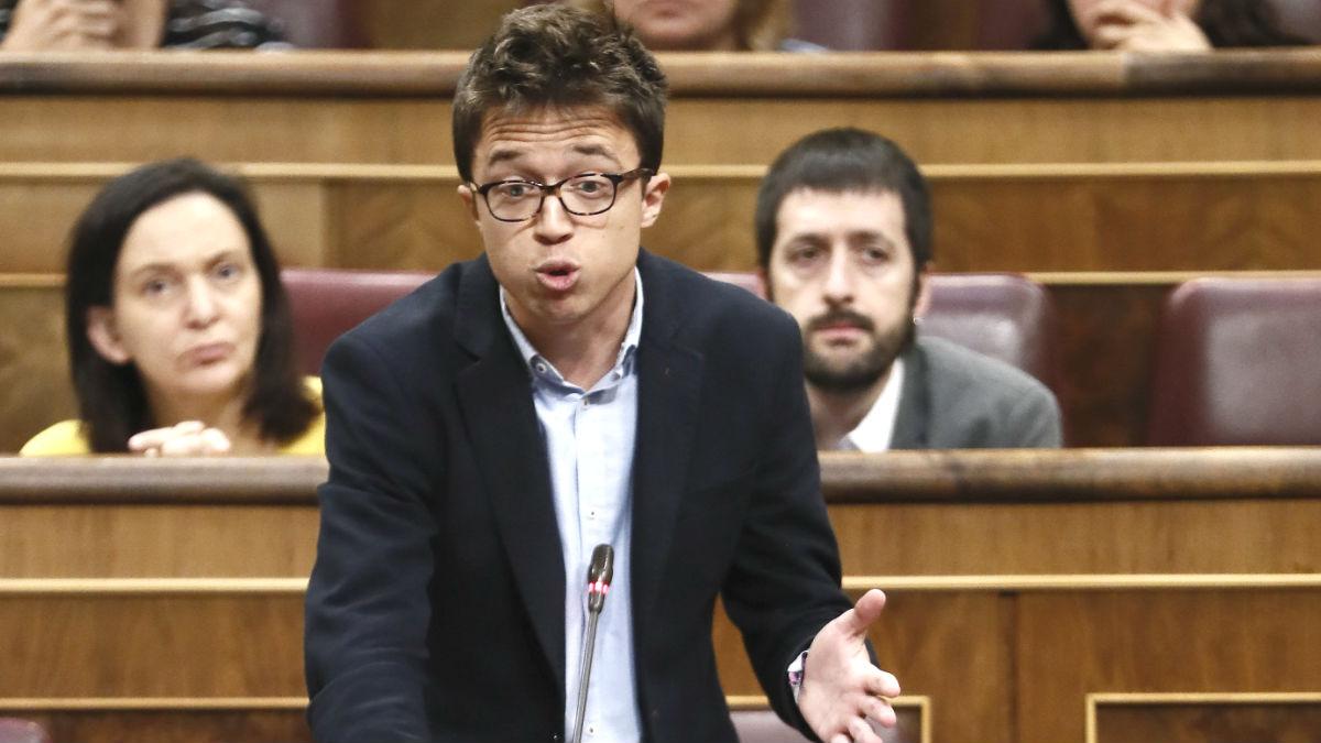 El secretario de Análisis Político de Podemos, Íñigo Errejón (Foto: Efe)