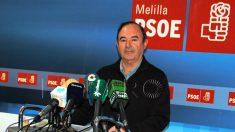 Francisco Vizcaíno, viceconsejero PSOE en Melilla.