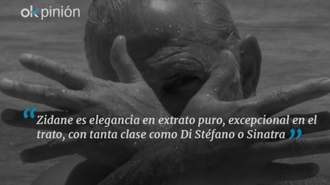 Zidane, un hombre para la eternidad