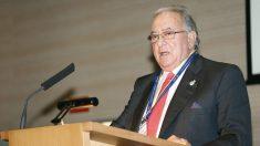Diego Murillo, presidente de A.M.A durante la Asamblea General (Foto: A.M.A)
